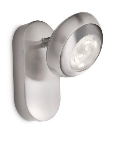Philips LED-wandspot 4 W, mat chroom, 571701716