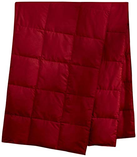 Puredown Packable Down Throw Sport Blanket, Downproof Fabric, 50x70''