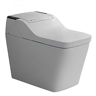 BTSSA One-Piece Toilet with,Bidet Functionality Auto-Sensing flip Bluetooth Music Function Foam Rinse Home Smart Electric Toilet