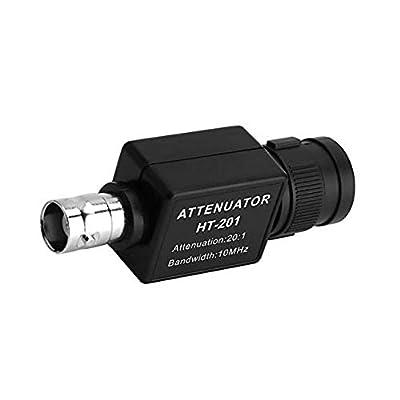 HT201 Passive Attenuator Signal Attenuation for Oscilloscope Attenuation 20:1 with 10MHz Bandwidth