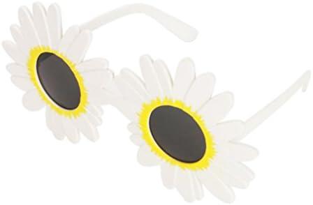 BESTOYARD - Gafas de Sol para Disfraz de Margarita Blanca, diseño ...