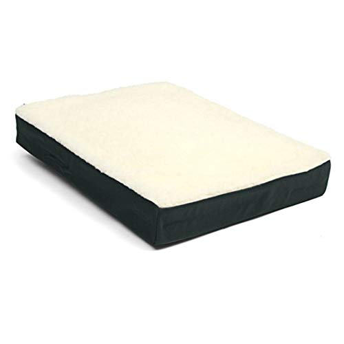 Memory Foam Gel Short Plush Fleece Cushion Wheelchair Solution Pillow Office Car Seat Pad