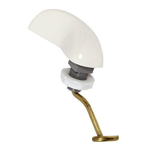 8473-0200A TRIP LEVER L.H PRES ASSIST FLUSH III White ()