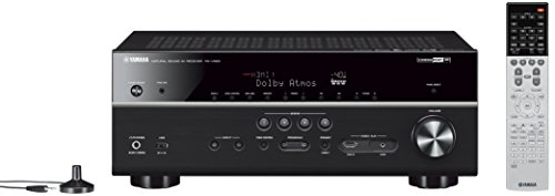 Yamaha RXV683 Music Cast 7 Channel AV Receiver - Black