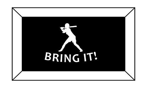 (T1255 Softball Bring It Decal Sticker - 4.00