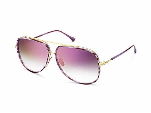 830947f8391 Dita Grandmaster Four DRX-2060-A-BLK-GLD-58 Sunglasses  UVC