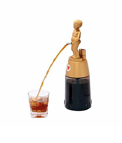 Barraid Brilliant Golden Bonny Boy Round Shape Liquor Dispenser 500 ML Capacity by Barraid