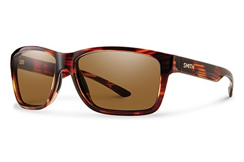 Smith Optics Men's Drake Chroma Pop Polarized Sunglasses (Brown Lens), - Smith Sunglasses Sale