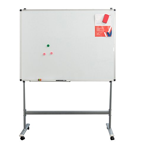 Gideal Mobile White Board 72'' x 36 '' Dry Erase Board for Home School Office QX183 by Gideal