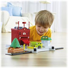 Transformer Station (Fisher Price Rollers Roll & Go Fire Station)
