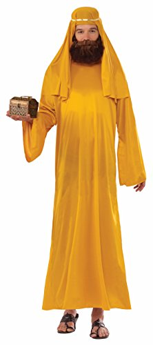 Forum Novelties Men's Forum Value Biblical Robe, Gold, Standard