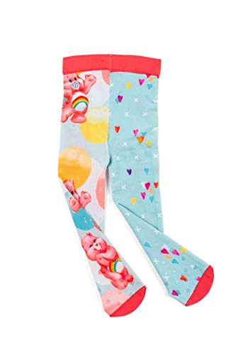 Baby Bling Care Bears Printed Tights for Baby Girls Leggings - Pastel Bubble