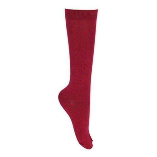 pares escuela calcetines Eesa colores de Burdeos secundaria 6 en para 8 ni Adam de as EwRSqE