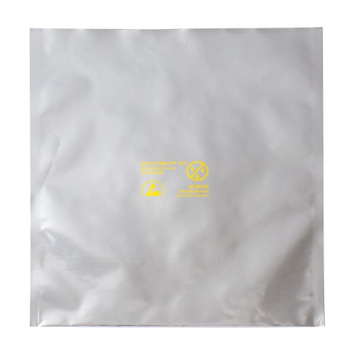 SCS Dri-Shield 3000 Silver Moisture Barrier Bag - 20 in Length - 10 in Wide - 6 mil Thick - D301020 [PRICE is per (Dri Shield Moisture Barrier Bag)