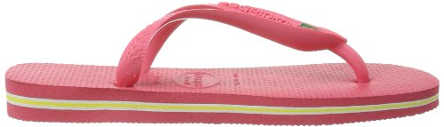 Havaianas Chanclas Hombre/Mujer Brasil Rosa (Pink (neon pink 5207))