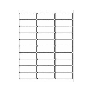 generic address mailing labels 5160 pack of 3000 labels 100 sheets 30 up labels