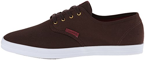 EMERICA Skateboard Shoes THE WINO BROWN/RED Size 13