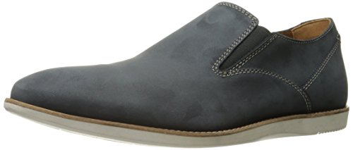 Clarks Mens Franson Stride Slip-on Mocassino Blu
