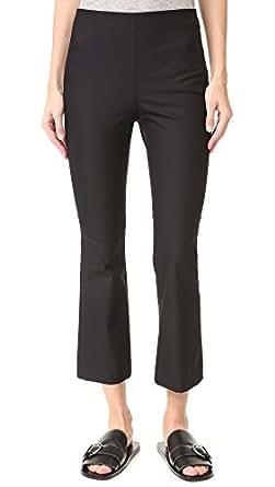 Theory Women's Ernestina B Flare Pants, Black, 2