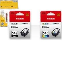 Canon PG-545/CL-546 Multipack 2 Cartouches dencre ...