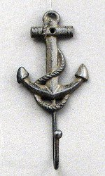 Home Decor- Anchor Coat Hooks Set of 2