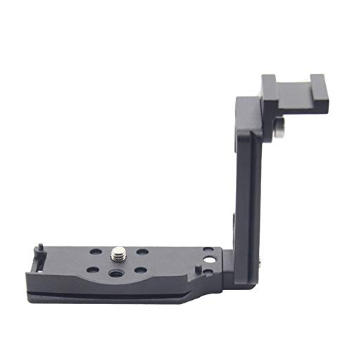 FOTOMIX LB-EOS RP for Canon EOS-RP Mirrorless Full Frame Camera Body L-Plate Bracket Quick Release Hand Grip Black Metal CNC, Stranchable & Detachable Design Custom Brackets Quick Release Tripod