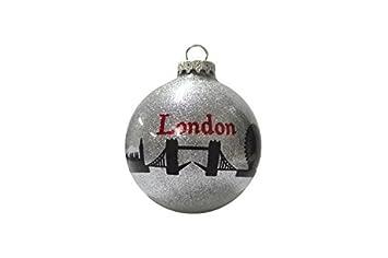 Amazon.com: Christmas London Ornament Holiday London Bridge ...