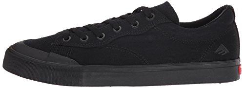 Skate zapato hombres Emerica Indicador bajo zapatos de Skate BLACK/BLACK