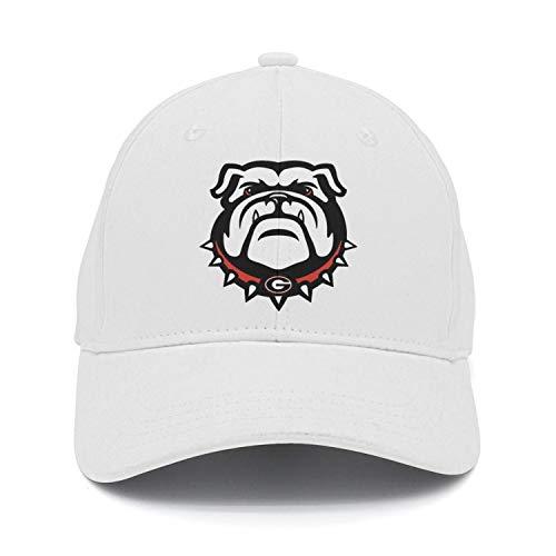 Fashion Baseball Cap Georgia Bulldogs Unisex Trucker Hat White