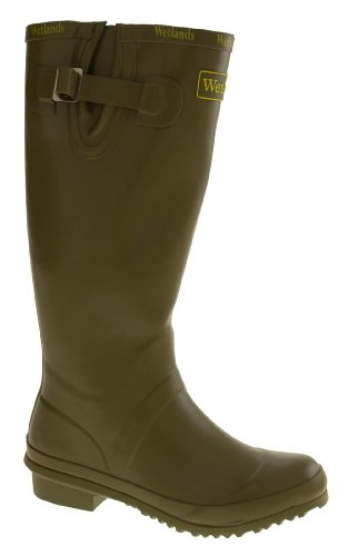 Wetlands Womens Green Wellington Waterproof Rubber Boots rwCvZYOrqx