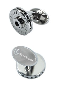 Mercedes-Benz Brake Rotor Cuff Links Cufflinks