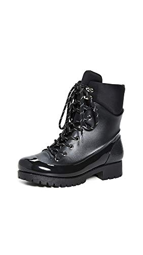 - Jeffrey Campbell Women's Foggy Rain Boots, Black, 7 M US