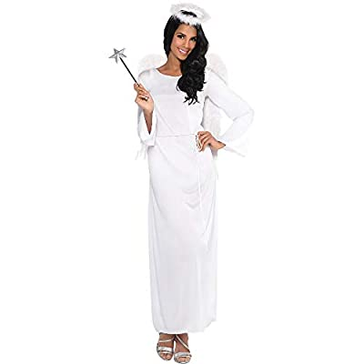 AMSCAN Heaven Sent Angel Halloween Costume for Women, Standard, with Included Accessories: Toys & Games