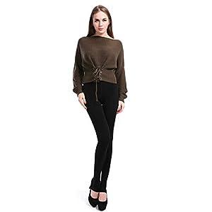 Shopizone® Velvet Warm Leggings Pants Stockings Winter Thermals for Girls Ladies Women