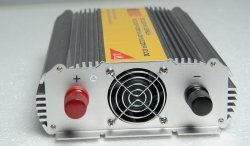 GOWE 3000W 12V or 24V DC to AC 110V or 220V off grid modified sine wave inverter with AC 110V-240V grid charger for battery by Gowe