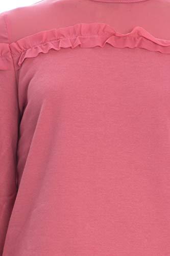 e e Cherry Rosa microvolant Polsini Only con 15163733 Felpa Glitter Glitter Glitter xvwzCX