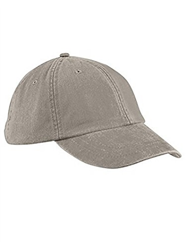 Adams ACLP101IV00001 Low Profile Washed Pigment Dyed Cap, Ivory, One Size -