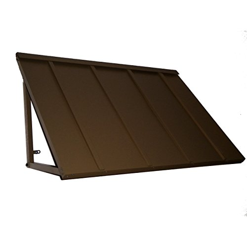 Denmir Door-Window Awnings Metal Standing Seam, 6ft x 36'' Bronze by Denmir canopy