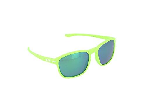 - Oakley Men's Enduro Retina Burn Fingerprint/Jade Iridium Sunglasses  One Size