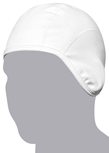 GearTOP Skull Cap Beanie  Sweat Wicking Helmet Liner for Motorcycle, Baseball, Running, Football, Snowboarding, Skiing (White)