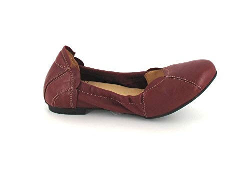 Rouge Femme Ballerines Think Pour Think Pour Ballerines wRqwzY