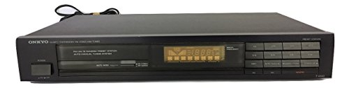 Onkyo AM FM Synthesized Stereo Radio Tuner | Model T-4140