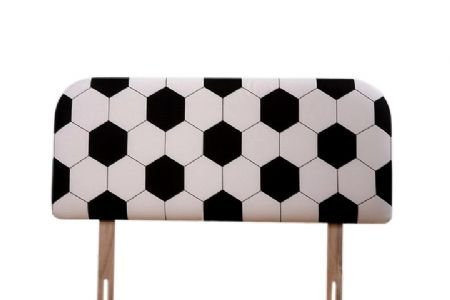 Soccer 2FT6 Headboard For Single Bed by Humza Amani by Humza Amani