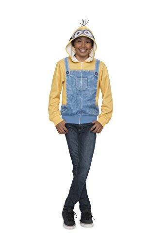 Rubie's Minion Child's Sweatshirt Hoodie, Large, One Color