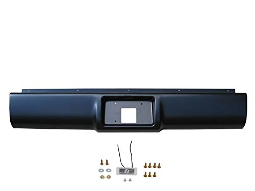 IPCW CWRS-88CK Chevrolet Pickup Steel Fleetside Roll Pan with License Plate Hole and Light