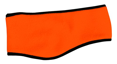 Outdoor Cap Fleece Ear Band, Blaze Orange, One Size