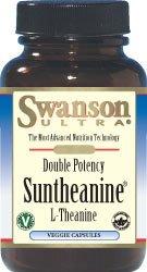 Double Puissance Suntheanine L-théanine 200 mg 60 Veg Caps