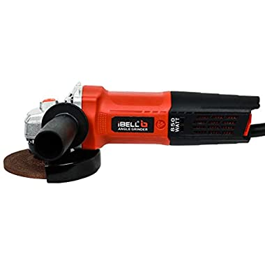 iBELL AG10-70, 850W,4-INCH, 11000RPM Angle Grinder W/Back Switch, 1 Grinding Wheel,1 Wheel Guard, 6 Months Warranty 7
