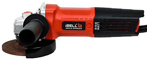 iBELL AG10-70, 850W,4-INCH, 11000RPM Angle Grinder W/Back Switch, 1 Grinding Wheel,1 Wheel Guard, 6 Months Warranty 1