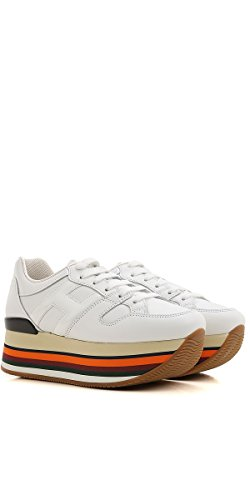 Hogan Sneakers Maxi H222 Bianco HXW2830T543H73